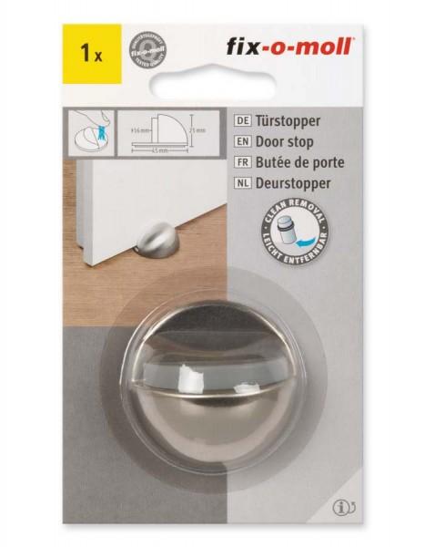 Türstopper Metall poliert 45 mm x 25 mm fix-o-moll