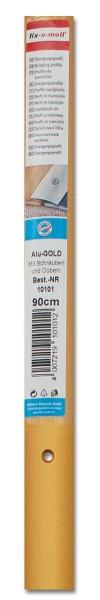 Übergangsprofil Aluminium fix-o-moll 90cm x 28mm alu-gold