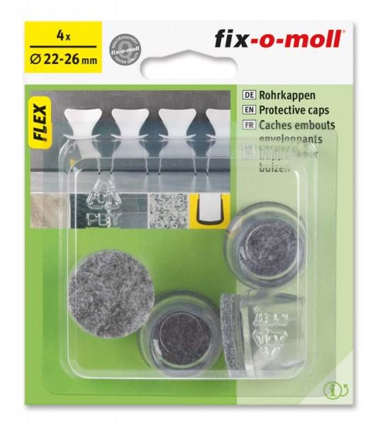 Rohrkappen Flex 22 mm - 26 mm fix-o-moll