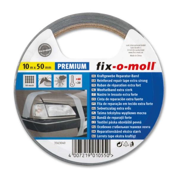 Reparaturband Panzerband fix-o-moll Premium silber 10 m x 50 mm