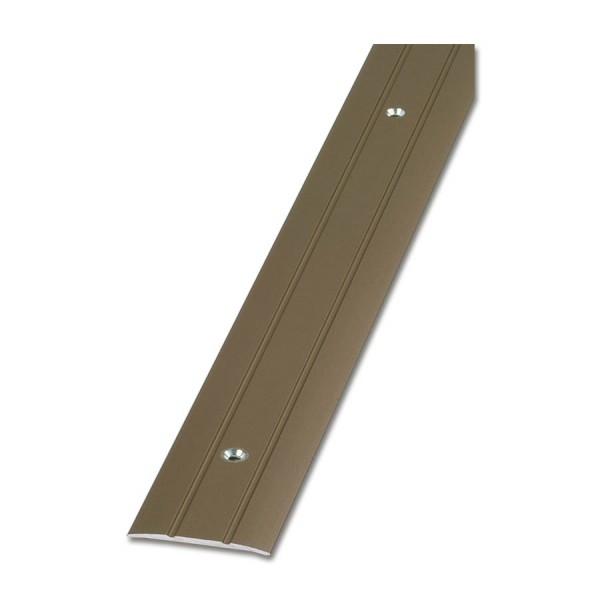 Übergangsprofil Aluminium fix-o-moll 90cm x 38mm alu-bronze