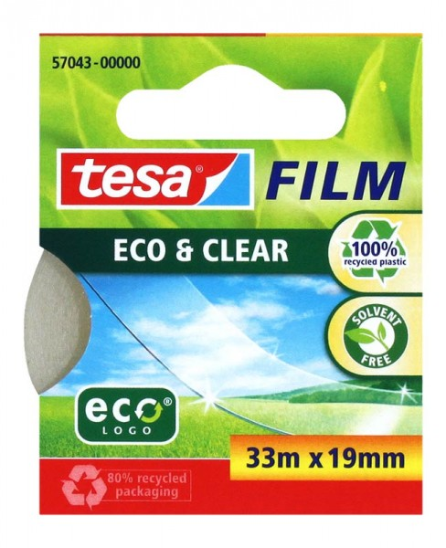 Klebefilm Eco & Clear 33m x 19mm tesa