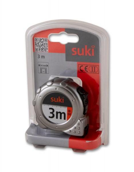 suki Bandmaß 3mx16mm silber