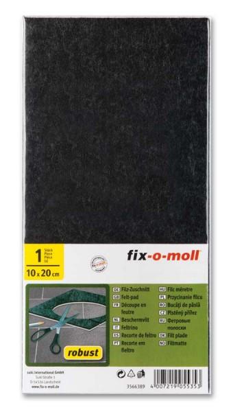 Filzzuschnitt robust selbstklebend fix-o-moll 200 x 100 mm