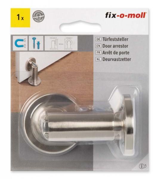 Türfeststeller Metall magnetisch D 50 mm fix-o-moll