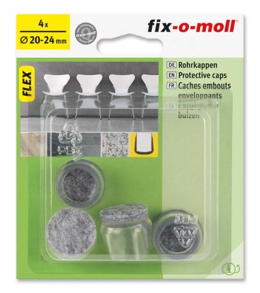 Rohrkappen Flex 20 mm - 24 mm fix-o-moll