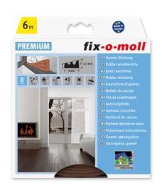 SUPER-SALE: E-Profildichtung fix-o-moll 6m braun