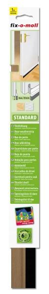 Türbodendichtung Türdichtung Standard fix-o-moll selbstklebend buche