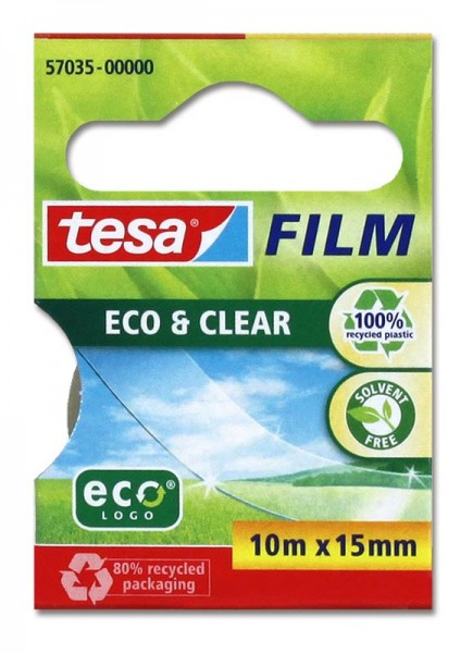 Klebefilm Eco & Clear 10m x 15mm tesa