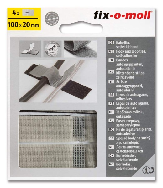Klettband Kabelfix fix-o-moll