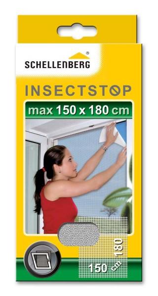 Fliegengitter Schellenberg für Fenster 150 x 180cm weiß