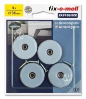 PTFE Universal Gleiter fix-o-moll rund 38 mm S
