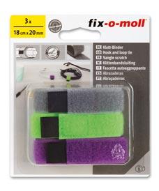 SUPER-SALE: Klettbinder Set fix-o-moll dreifarbig