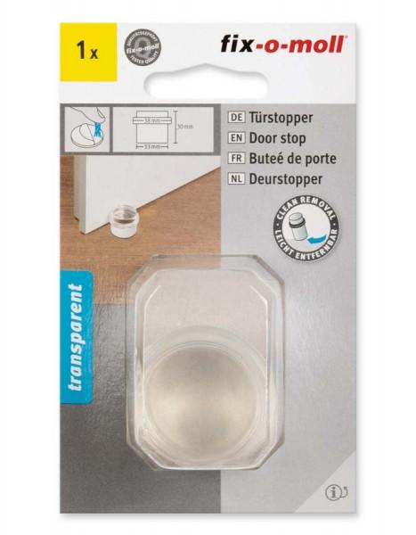 Türstopper transparent 33-38 x 30 mm fix-o-moll