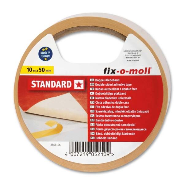 Verlegeband Teppichverlegeband fix-o-moll Standard 10 m x 50 mm