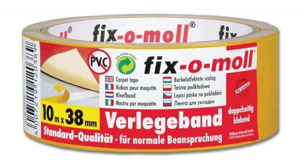 Verlegeband Standard fix-o-moll 10m x 38mm