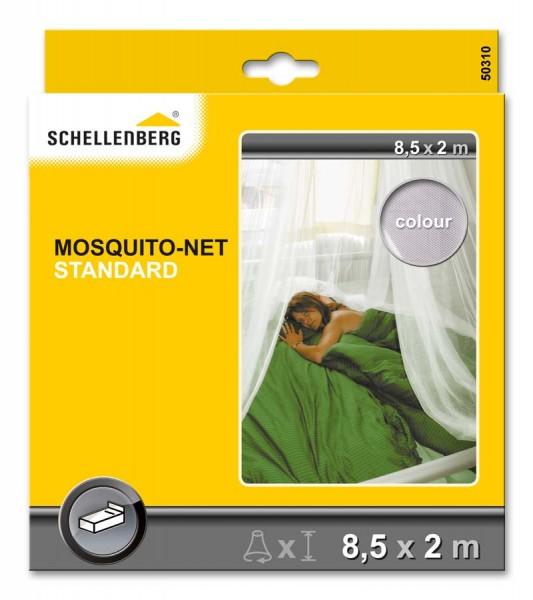 Moskitonetz STANDARD Schellenberg 8,5 x 2,0 m weiß