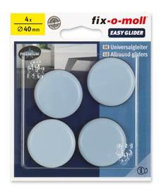 SUPER-SALE: fix-o-moll PTFE Universal Gleiter rund 40mm