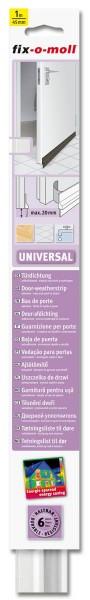 Türbodendichtung Türdichtung Universal fix-o-moll weiß