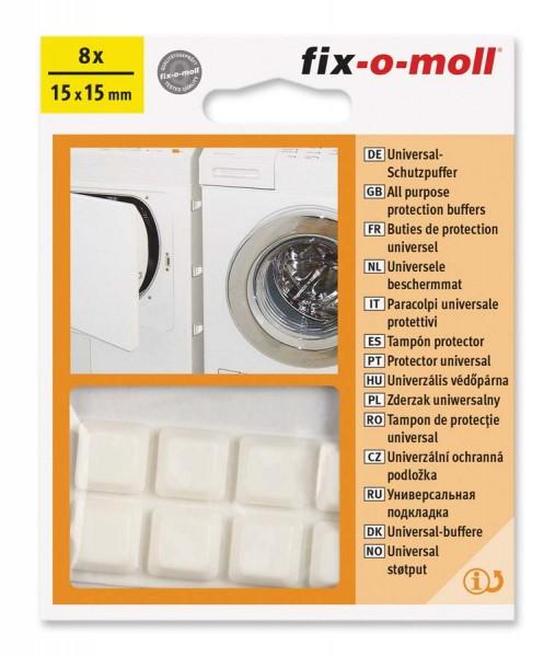 Universal-Schutzpuffer weiß fix-o-moll
