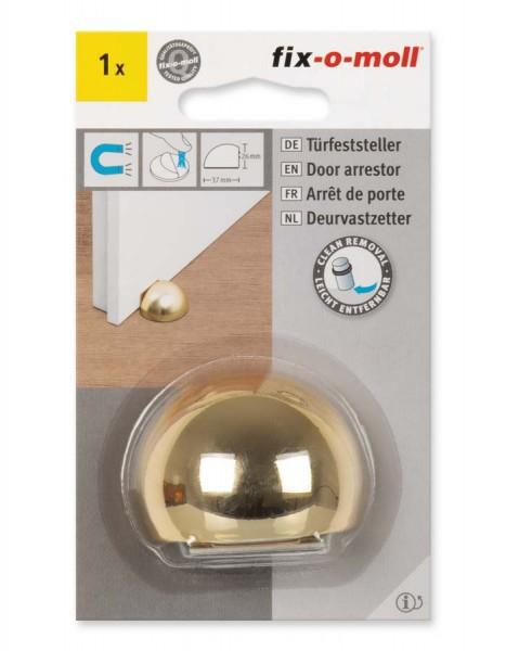 Türfeststeller gold Kunststoff magnetisch fix-o-moll