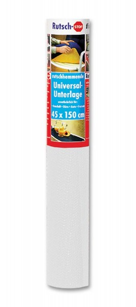 Rutsch-Stop-Unterlage 1,5m x 45cm weiß fix-o-moll