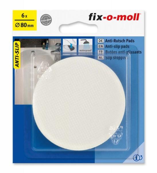 Anti-Rutsch Pads selbstklebend 80 mm fix-o-moll