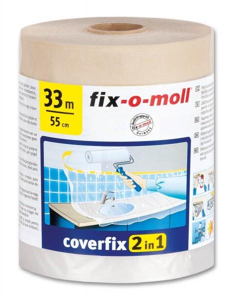 Kreppband Coverfix fix-o-moll 33m x 55cm