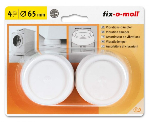 fix-o-moll Vibrationsdämpfer für Waschmaschinen