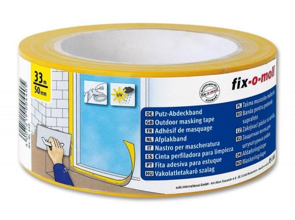 Putz-Abdeckband gelb fix-o-moll
