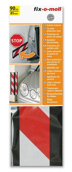 Autotür-Schoner mit Warnband rot-weiß fix-o-moll