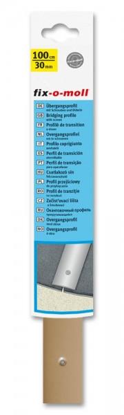 Übergangsprofil Hart-PVC fix-o-moll 1m x 30mm beige