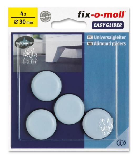 PTFE Universal Gleiter fix-o-moll selbstklebend rund 30 mm