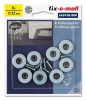 PTFE Universal Gleiter fix-o-moll rund 22 mm S