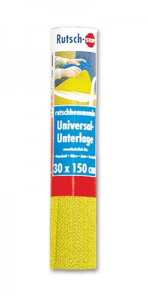 Rutsch-Stop-Unterlage 1,5m x 30cm gelb fix-o-moll