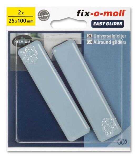 PTFE Universal Gleiter fix-o-moll selbstklebend 25 x 100 mm