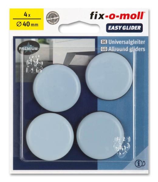 PTFE Universal Gleiter fix-o-moll selbstklebend rund 40 mm