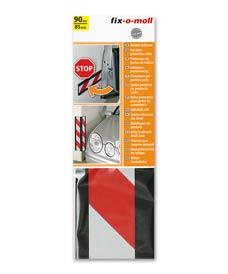 SUPER-SALE: Autotür-Schoner mit Warnband rot-weiß fix-o-moll