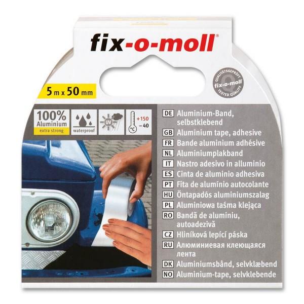 Aluminiumband Reparaturband fix-o-moll 80 µm