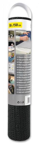Rutsch-Stop-Unterlage 1,5m x 30cm schwarz fix-o-moll