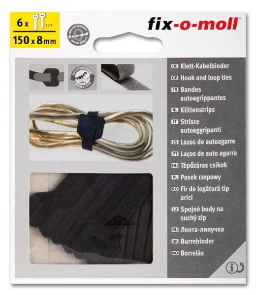 Klett-Kabelbinder fix-o-moll
