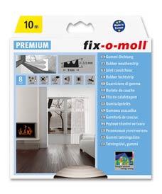 SUPER-SALE: E-Profildichtung fix-o-moll 10m weiß