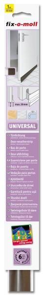 Türbodendichtung Türdichtung Universal fix-o-moll braun