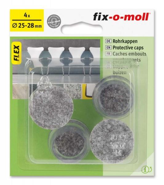 Rohrkappen Flex 25 mm - 28 mm fix-o-moll