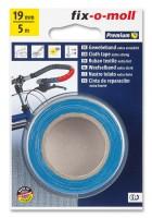 Gewebeband fix-o-moll 19mm blau