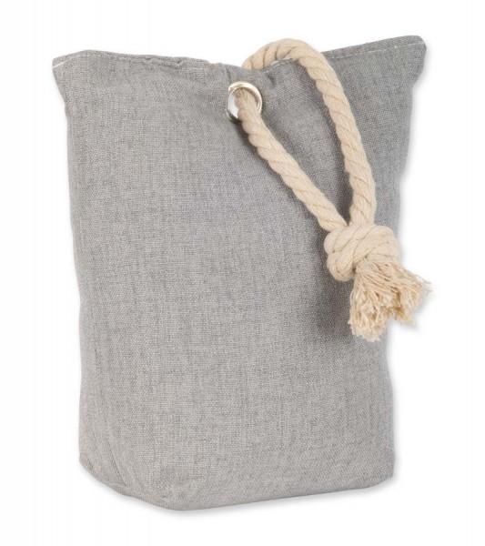 Türstopper Sack textil grau fix-o-moll