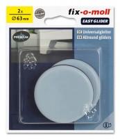 PTFE Universal Gleiter fix-o-moll selbstklebend rund 63 mm