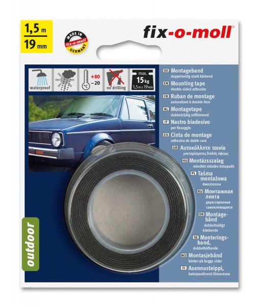 Montageband outdoor fix-o-moll