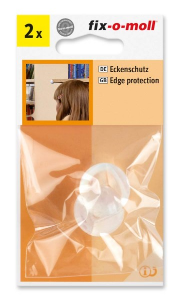 Eckenschutz transparent fix-o-moll