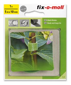 SUPER-SALE: Klettbinder garden fix-o-moll 5m x 10mm